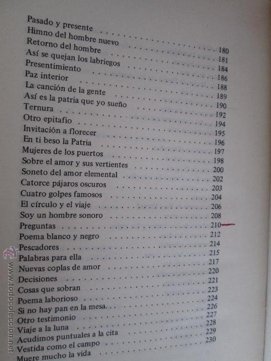 Libros de segunda mano: CARLOS CASTRO SAAVEDRA. POEMAS ESCOGIDOS 1946 - 1974. - Foto 13 - 48936325