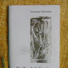 Libros de segunda mano: HUELLAS DE LO ESCRITO. FERNANDO MENENDEZ. GIJON, 1995. SE EDITARON 300 EJEMPLARES FIRMADOS Y NUMERAD. Lote 49254511
