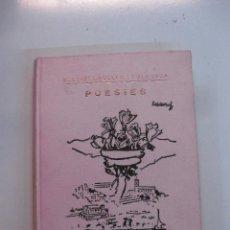Libros de segunda mano: CALDETES. POESIES. BALDIRI CRUELLS I FOLGUERA. 1969. Lote 49465319
