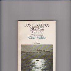 Libros de segunda mano: CÉSAR VALLEJO - LOS HERALDOS NEGROS & TRILCE - LAIA EDITORIAL 1981. Lote 49705083