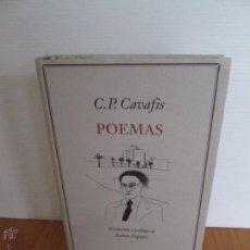 Libros de segunda mano: C. P. CAVAFIS. POEMAS, E.D. CIRCULO DE LECTORES.. Lote 49788093