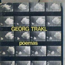 Libros de segunda mano: GEORG TRAKL : POEMAS (VISOR, 1973). Lote 50036861