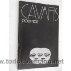 Libros de segunda mano: CONSTANTINO CAVAFIS. 75 POEMAS. MADRID, ALBERTO CORAZÓN, 1976. (COLECCIÓN VISOR, 9). Lote 50261455