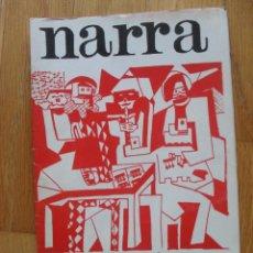 Libros de segunda mano: REVISTA LITERARIA ARAGONESA NARRA JOVENES POETAS ARAGONESES,. Lote 50455211