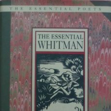 Libros de segunda mano: THE ESSENTIAL WHITMAN/WALT WHITMAN - SELECTED BY GALWAY KINNELL. Lote 50535493