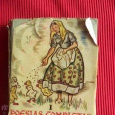 Libros de segunda mano: POESÍAS COMPLETAS TOMO I - JOSE MARIA GABRIEL Y GALÁN - COLECCIÓN MÁS ALLÁ. Lote 50543160
