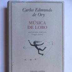 Libros de segunda mano: MUSICA DE LOBO.. Lote 50594737