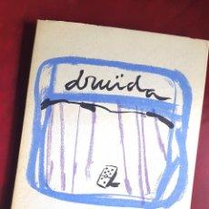 Libros de segunda mano: DRUÏDA - ENRIC CASASSES - 1982 - CINC/DOS - LA COSA AQUELLA . Lote 51085821