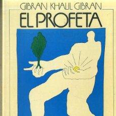 Libros de segunda mano: GIBRAN KHALIL GIBRAN : EL PROFETA (POMAIRE, 1980) . Lote 51580497