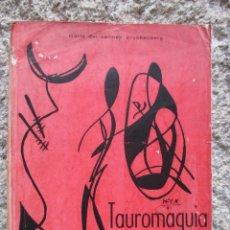 Libros de segunda mano: TAUROMAQUIA EN LINEA Y VERSO - MARIA DEL CARMEN KRUCKENBERG - VIGO 1964 DEDICATORIA MANUSCRITA +INFO. Lote 51673301