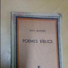 Libros de segunda mano: POEMES BIBLICS DE JOAN ALCOVER. Lote 51930421