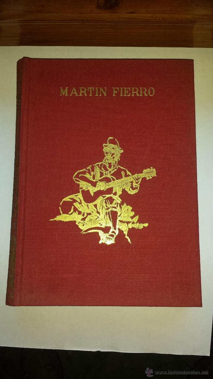 MARTIN FIERRO 1966 (Libros de Segunda Mano (posteriores a 1936) - Literatura - Poesía)