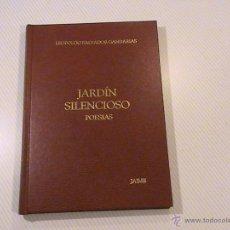 Libros de segunda mano: JARDIN SILENCIOSO (POESIAS) (AUTOR: LEOPOLDO SALVADOR GANDARIAS). Lote 53262947
