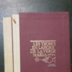 Libros de segunda mano: LES TROBES EN LAHORS DE LA VERGE MARIA, VALENCIA VICENT GARCIA, 1979.. Lote 53358848