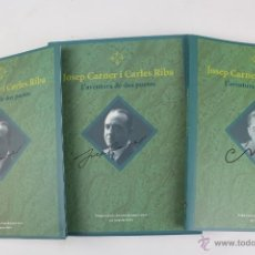 Libros de segunda mano: L-2869. JOSEP CARNER I CARLES RIBA. L'AVENTURA DE DOS POETES. JOAQUIM MOLAS. DOS LLIBRES.. Lote 53513948