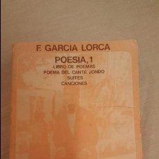 Libros de segunda mano: F, GARCIA LORCA, POESIA, 1, LIBRO DE POEMAS, EDICION DE MIGUEL GARCIA POSADA, AKAL BOLSILLO. Lote 53769729