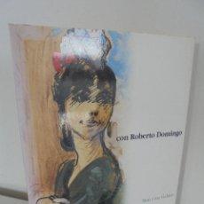 Libros de segunda mano: MARIA CRUZ GALATAS. CON ROBERTO DOMINGO. DEDICADO Y FIRMADO POR LA AUTORA A FERNANDO MORA. VER FOTOS. Lote 53826328