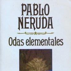 Libros de segunda mano - Odas elementales. Pablo Neruda - 54462026