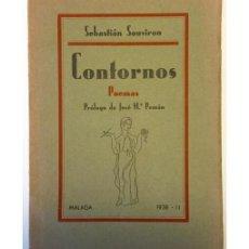 Libros de segunda mano: CONTORNOS. POEMAS. Lote 55044542
