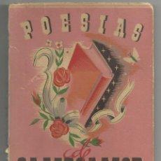 Libros de segunda mano: POESIAS DE CAMPOAMOR - EDITORIAL FAMA 1944. Lote 55937472