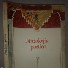 Libros de segunda mano: ANTOLOGÍA POÉTICA 1986 JUAN BERNIER ED. DIPUTACIÓN PROVINCIAL COLECCIÓN POLIFEMO 1. Lote 56515949
