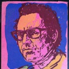 Libros de segunda mano: JOSÉ AFONSO. SUELTOS DE POESÍA 5. 1987 - CON SERIGRAFÍA DE OCTAVIO COLIS. Lote 227778840