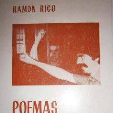 Libros de segunda mano: POEMAS CARCELARIOS RAMON RICO AYUNTAMIENTO VISO DEL ALCOR IMPRENTA ZAMBRANO 1984. Lote 56922922