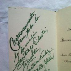 Libros de segunda mano: LIBRO POESIA ALMA TRISTE Y RESURRECCION DEL ALMA LA POETISA FELIZ 450 GRS 1993 DEDIC Y FIRMA AUTORA. Lote 57260152