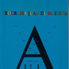 Libros de segunda mano: POETAS EN EL AULA. PROYECTO 'JUAN DE MAIRENA'. CURSO 90-91. VOLUMEN II. JUNTA DE ANDALUCÍA.. Lote 57264806