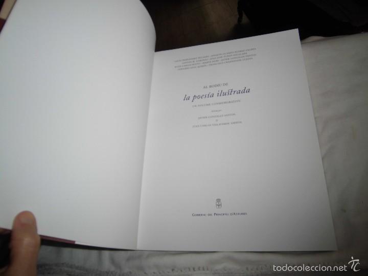 Libros de segunda mano: AL RODIU DE LA POESIA ILUSTRADA- 33ª SELMANA DE LES LLETRES ASTURIANES -VARIOS AUTORES- EN ASTURIANO - Foto 3 - 57271374