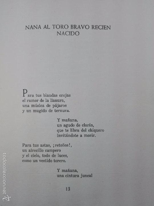 Libros de segunda mano: CUANDO PASA EL TORO - MANUEL BENITEZ CARRASCO - DECICADO Y FIRMADO - 25 X 17 CM. - 112 PP.- - Foto 5 - 57272669