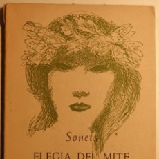 Libros de segunda mano: SONETS - ELEGIA DEL MITE – NITS, MÉS ENLLÀ DEL SOMNI - AUTOR: JOSEP ROMEU I FIGUERAS -. Lote 57289210
