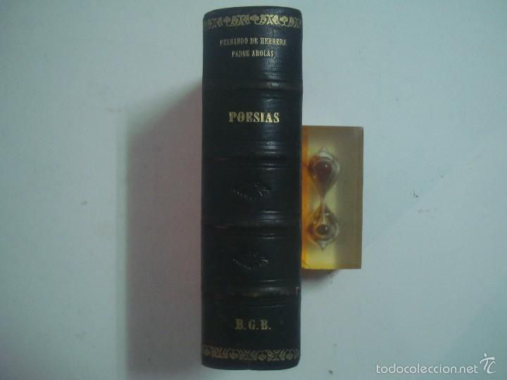 FERNANDO DE HERRERA. PADRE AROLAS. POESIAS. 1941. LUJOSA EDICIÓN. (Libros de Segunda Mano (posteriores a 1936) - Literatura - Poesía)