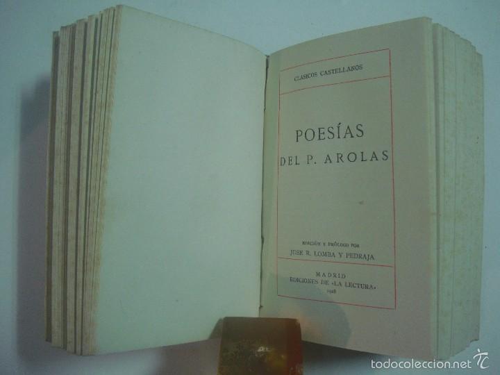 Libros de segunda mano: FERNANDO DE HERRERA. PADRE AROLAS. POESIAS. 1941. LUJOSA EDICIÓN. - Foto 5 - 57291510