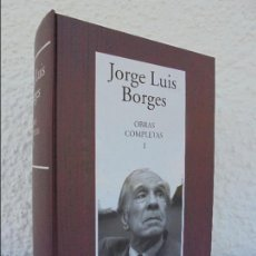 Libros de segunda mano: JORGE LUIS BORGES. OBRAS COMPLETAS. RBA-INSTITUTO CERVANTES 2005. VER FOTOGRAFIAS ADJUNTAS.. Lote 57335598