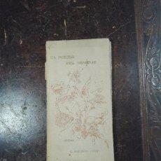 Libros de segunda mano: EL POEMA DEL TRABAJO - G. MARTÍNEZ SIERRA - PRIMERA EDICIÓN - MADRID - 1898 - 121 PP. -20 X 9,5 CM -. Lote 57352952