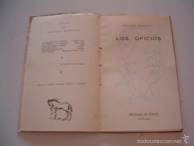 Libros de segunda mano: EDUARDO MOREIRAS. Los Oficios. RM75128. - Foto 3 - 57399691
