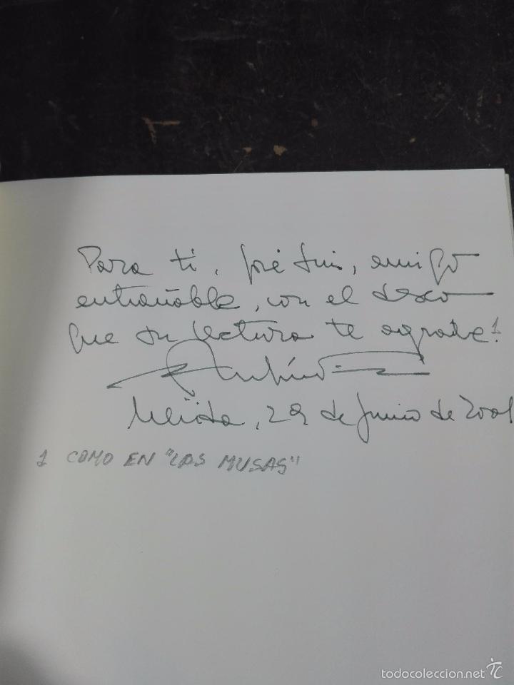 Libros de segunda mano: LAS AGUAS LITORALES - RUFINO FÉLIX MORILLÓN - FIRMADO Y DEDICADO - SEVILLA - 2001 - 93 PP. - 21 X 15 - Foto 2 - 57404521