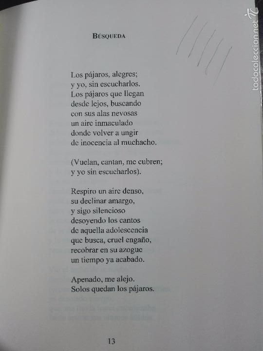 Libros de segunda mano: LAS AGUAS LITORALES - RUFINO FÉLIX MORILLÓN - FIRMADO Y DEDICADO - SEVILLA - 2001 - 93 PP. - 21 X 15 - Foto 4 - 57404521
