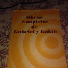 Libros de segunda mano: OBRAS COMPLETAS . Lote 57485789
