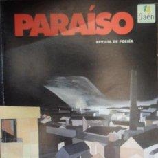 Paraíso, Revista de poesía, nº 5 extra, 2009, VVAA