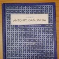 Libros de segunda mano: LA VOZ DE ANTONIO GAMONEDA. POESÍA EN LA RESIDENCIA. GAMONEDA, ANTONIO. Lote 57914899