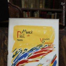 Libros de segunda mano: [POEMES I DIBUIXOS.] MERCÈ DE PRAT I VÍCTOR RAMÍREZ. ED. DE 250 EX. 1982. 1 DIBUIX ORIGINAL. DEDICAT. Lote 58153036