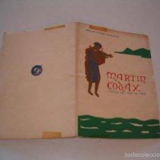 Libros de segunda mano: JOSÉ Mª ÁLVAREZ BLAZQUEZ. MARTÍN CODAX, CANTOR DEL MAR DE VIGO. EDICIÓN FACSIMILAR. RM75769. . Lote 58281003