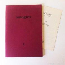 Libros de segunda mano: AUTOGIRO 1 - REVISTA DE POESÍA. Lote 58406125