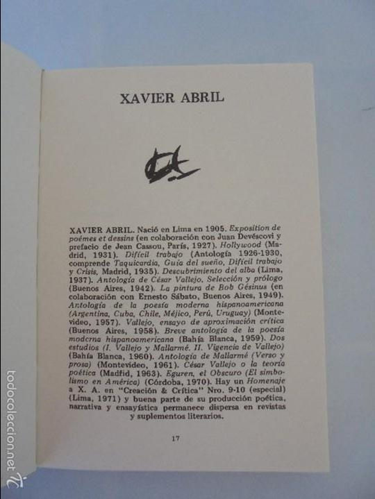 Libros de segunda mano: CATORCE POETAS DEL PERU. EL LIBRO DE UNOS SONIDOS. REYNALDO JIMENEZ. - Foto 7 - 58500800