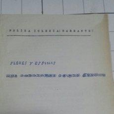Libros de segunda mano: LIBRO ANTIGUA BORRADOR DE POESÍA JAMÁS PUBLICADA. Lote 58502242