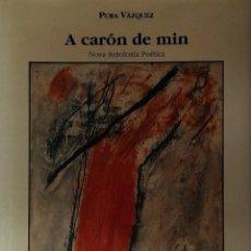 Libros de segunda mano: A CARÓN DE MIN. NOVA ANTOLOXÍA POÉTICA. PURA VÁZQUEZ. Lote 58514808