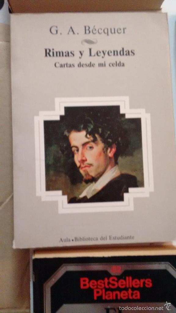 RIMAS Y LEYENDAS,CARTAS DESDE MI CELDA DE GUSTAVO ADOLFO BECQUER (Libros de Segunda Mano (posteriores a 1936) - Literatura - Poesía)