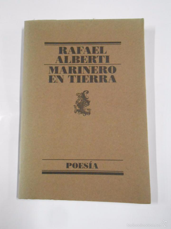 Marinero en tierra rafael alberti poesia tdk comprar libros de poes a en todocoleccion - Libreria segunda mano online ...